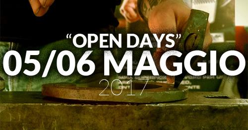 Blacksmith Italia open days 5 6 maggio 2017